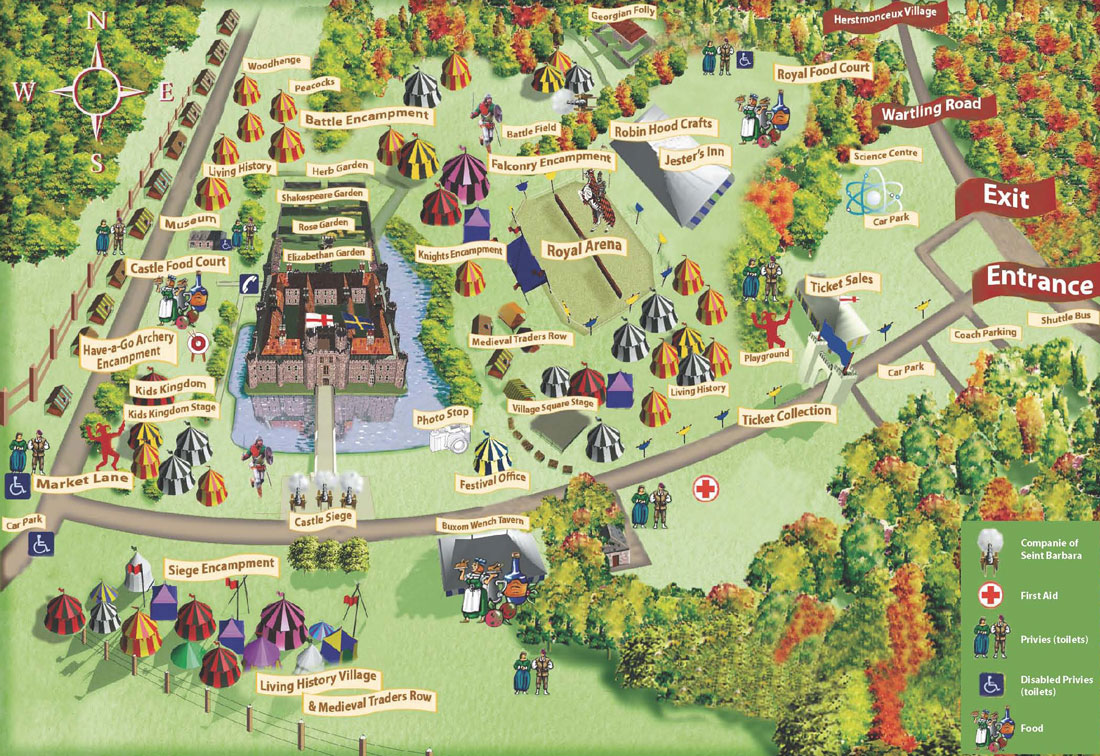 England S Medieval Festival Images Maps