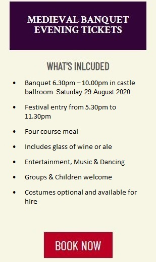 England's Medieval Festival - Tickets